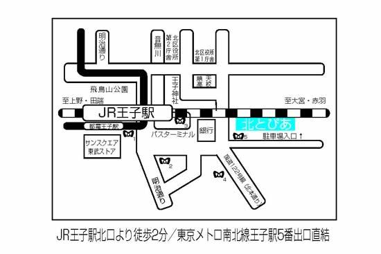 北とぴあ_map